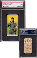 Baseball Cards:Singles (Pre-1930), 1909-11 T206 Hindu - Brown James Lafitte PSA EX 5 - Pop One, Two Higher for Brand. ...