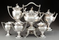 Silver & Vertu, A Six-Piece Gorham Mfg. Co. Silver Coffee and Tea Service,...