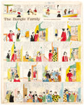 Original Comic Art:Comic Strip Art, Harry Tuthill The Bungle Family and Little Brother Sunday Comic Strip Original Art dated 3-27-27 (H.J....