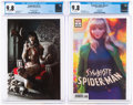Modern Age (1980-Present):Miscellaneous, Vampirella V5#1 and Symbiote Spider-Man #1 CGC-Graded Group (Dynamite/Marvel, 2019) CGC NM/MT 9.8 White pages.... (Total: 2 Items)