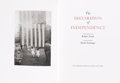 Books:Fine Press & Book Arts, [Limited Editions Club]. The Declaration of ...