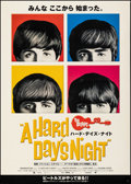 """Movie Posters:Rock and Roll, A Hard Day's Night (Miramax, R-2001). Rolled, Very Fine-. Japanese B1 (40.25"""" X 28.75""""). Rock and Roll.. ..."""
