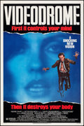 """Movie Posters:Fantasy, Videodrome (Universal, 1983). Rolled, Very Fine. One Sheet (27"""" X 41""""). Fantasy.. ..."""
