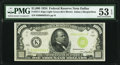 Small Size:Federal Reserve Notes, Fr. 2211-K $1,000 1934 Light Green Seal Federal Reserve Note PMG About Uncirculated 53 EPQ.. ...