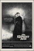 """Movie Posters:Drama, The Elephant Man (Paramount, 1980). Fine/Very Fine on Linen. Autographed One Sheet (27"""" X 41""""). Drama.. ..."""