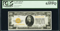 Fr. 2402 $20 1928 Gold Certificate. PCGS Choice New 63PPQ