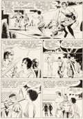 Original Comic Art:Panel Pages, Paul Norris and Mike Royer Edgar Rice Burroughs' Tarzan of the Apes #194 Story Page 21 Original Art (Gold Key/West...