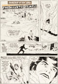 Original Comic Art:Panel Pages, Mike Royer Edgar Rice Burroughs' Tarzan of the Apes #202 Story Page 1 Original Art (Gold Key/Western, 1970). ...