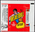 Basketball Cards:Lots, 1972 - 1982 Basketball & Golf Wrappers Collection (11). ...