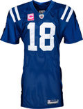 Football Collectibles:Uniforms, 2009 Peyton Manning Game Worn & Signed Indianapolis Colts Jersey--Photo Matched with NFL & Colts Documentation!...
