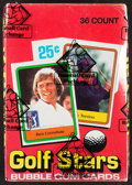 """Golf Cards:General, 1981 Donruss """"Golf Stars"""" Wax Box With 36 Unopened Packs. ..."""