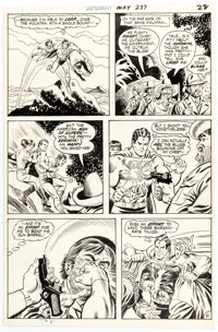 Curt Swan and Murphy Anderson Superman #237 Story Page 21 Original Art (DC, 1971)