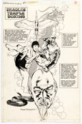 Original Comic Art:Splash Pages, Frank McLaughlin Giant-Size Master of Kung Fu #1 Splash Page 43 Original Art (Marvel Comics, 1974)....