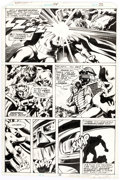 Original Comic Art:Panel Pages, Gene Colan and Steve Leialoha Daredevil #154 Page 22 Original Art (Marvel Comics, 1978)....