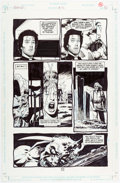 Original Comic Art:Panel Pages, Steve Dillon Preacher #32 Story Page 14 Original Art (DC/Vertigo, 1997)....