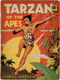 Large Feature Comic (Series I) #5 Tarzan (Dell, 1939) Condition: GD