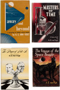 Books:Hardcover, A. E. Van Vogt Hardcover Volumes Group of 10 (Various, 1950-70) Condition: Average FN.... (Total: 10 Items)