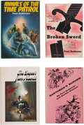 Books:Hardcover, Poul Anderson Hardcover Editions Group of 7 (Various, 1954-90).... (Total: 7 Items)