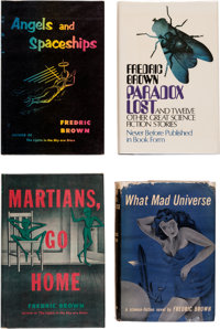 Fredric Brown Hardcover Editions Group of 4 (Various, 1949-73).... (Total: 4 Items)