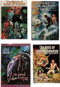 Books:Hardcover, Leigh Brackett and Edmond Hamilton Hardcover Editions Group of 8 (Various, 1936-99).... (Total: 8 Items)