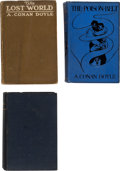 Books:Hardcover, A. Conan Doyle Hardcover Editions Group of 3 (Various, 1906-13).... (Total: 3 Items)
