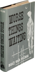 Books:First Editions, Manly Wade Wellman. Worse Things Waiting. Chapel Hill: Carcosa, 1973. First edition....