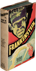 Books:First Editions, Mary W. Shelley. Frankenstein. Or, the Modern Prometheus. New York: Grosset & Dunlap, [1931]. First photoplay ed...