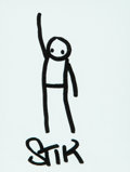 Stik (20th century) Untitled, 2014 Ink on paper 5 x 3-7/8 inches (12.7 x 9.8 cm) Signed lower