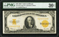 Large Size:Gold Certificates, Fr. 1173 $10 1922 Gold Certificate PMG Very Fine 30 EPQ.. ...