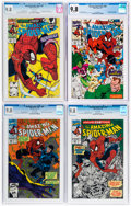 Modern Age (1980-Present):Superhero, The Amazing Spider-Man CGC-Graded Group of 4 (Marvel, 1991) CGC NM/MT 9.8 White pages.... (Total: 4 )