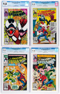 Modern Age (1980-Present):Superhero, The Amazing Spider-Man CGC-Graded Group of 4 (Marvel, 1991-92) CGC NM/MT 9.8 White pages.... (Total: 4 )