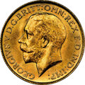 Australia: George V gold Sovereign 1923-M MS63+ NGC
