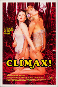 """Climax! & Other Lot (Reeltime, 1985). Rolled, Overall: Fine/Very Fine. One Sheets (7) (27"""" X 41,"""" 27""""..."""