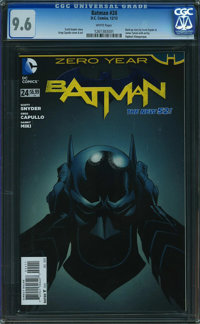 Batman #24 (DC, 2013) CGC NM+ 9.6 White pages