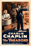 Movie Posters:Comedy, The Vagabond (Export & Import, R-1920s). Fine/Very Fine on...
