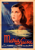 "Movie Posters:Foreign, Marie-Louise (Fincine, 1945). Folded, Fine+. Italian Foglio (27.25"" X 39"") Anselmo Ballester Artwork.. ..."