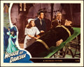"""Movie Posters:Horror, House of Dracula (Universal, 1945). Very Fine. Lobby Card (11"""" X 14"""").. ..."""