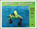 """Movie Posters:Horror, Creature from the Black Lagoon (Universal International, 1954). Very Fine-. Lobby Card (11"""" X 14"""").. ..."""