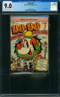 Do-Do #3 (Nationwide Publications, 1951) CGC VF/NM 9.0 Off-white to white pages