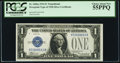 Fr. 1606a $1 1934 Silver Certificate. PCGS Choice About New 55PPQ