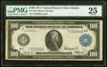 Large Size:Federal Reserve Notes, Fr. 1104 $100 1914 Federal Reserve Note PMG Very Fine 25.. ...