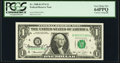 Small Size:Federal Reserve Notes, Francine I. Neff Courtesy Autographed Fr. 1908-D $1 1974 Federal Reserve Note. PCGS Very Choice New 64PPQ.. ...