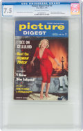 Magazines:Miscellaneous, Picture Digest V29#4 (Plaza Digest, 1956) CGC VF- 7.5 Off-white to white pages....