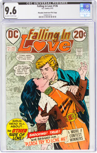 Falling in Love #136 Murphy Anderson File Copy (DC, 1972) CGC NM+ 9.6 Off-white to white pages