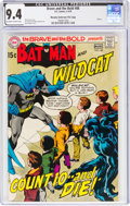 Bronze Age (1970-1979):Superhero, The Brave and the Bold #88 Batman and Wildcat - Murphy Anderson File Copy (DC, 1970) CGC NM 9.4 Off-white to white pages....