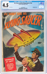 Vic Torry & His Flying Saucer #nn (Fawcett Publications, 1950) CGC VG+ 4.5 Cream to off-white pages