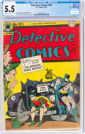 Golden Age (1938-1955):Superhero, Detective Comics #105 (DC, 1945) CGC FN- 5.5 Cream to off-white pages....