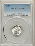 Mercury Dimes: , 1927 10C MS66 Full Bands PCGS. PCGS Population: (140/32). NGC Census: (31/4). CDN: $475 Whsle. Bid for problem-free NGC/PCG...