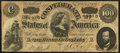 Confederate Notes:1864 Issues, T65 $100 1864 PF-1 Cr. 490 Very Fine-Extremely Fine.. ...