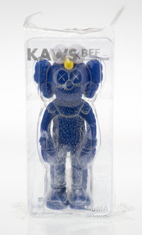 KAWS (b. 1974) BFF Companion (MoMa), 2017 Painted cast vinyl 13-1/2 x 5 x 3-1/2 inches (34.3 x 12